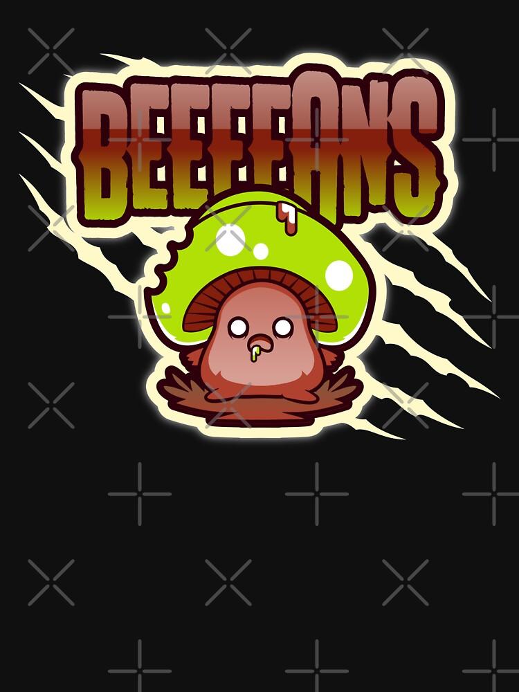 Beeeeans Vegan Zombie Mushroom by nikkihstokes