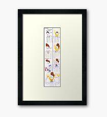Three Bowties (poster) Framed Print