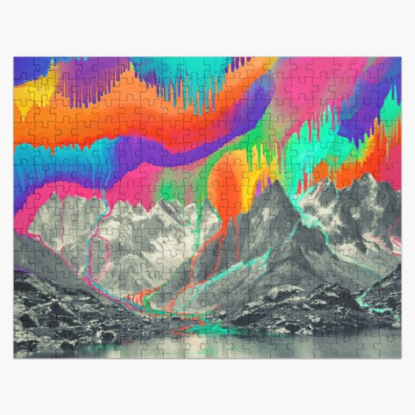 Skyfall, Melting Northern Lights Jigsaw Puzzle