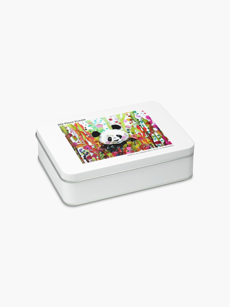 Alternate view of panda Jigsaw Puzzle