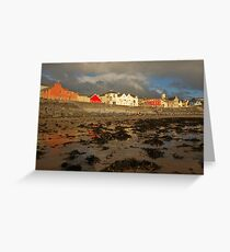 Reflections of Lahinch Greeting Card