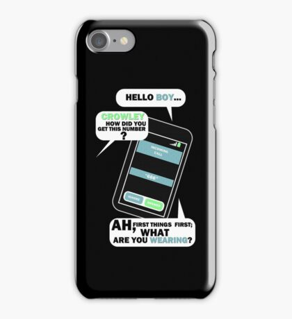 What are you wearing? iPhone Case/Skin