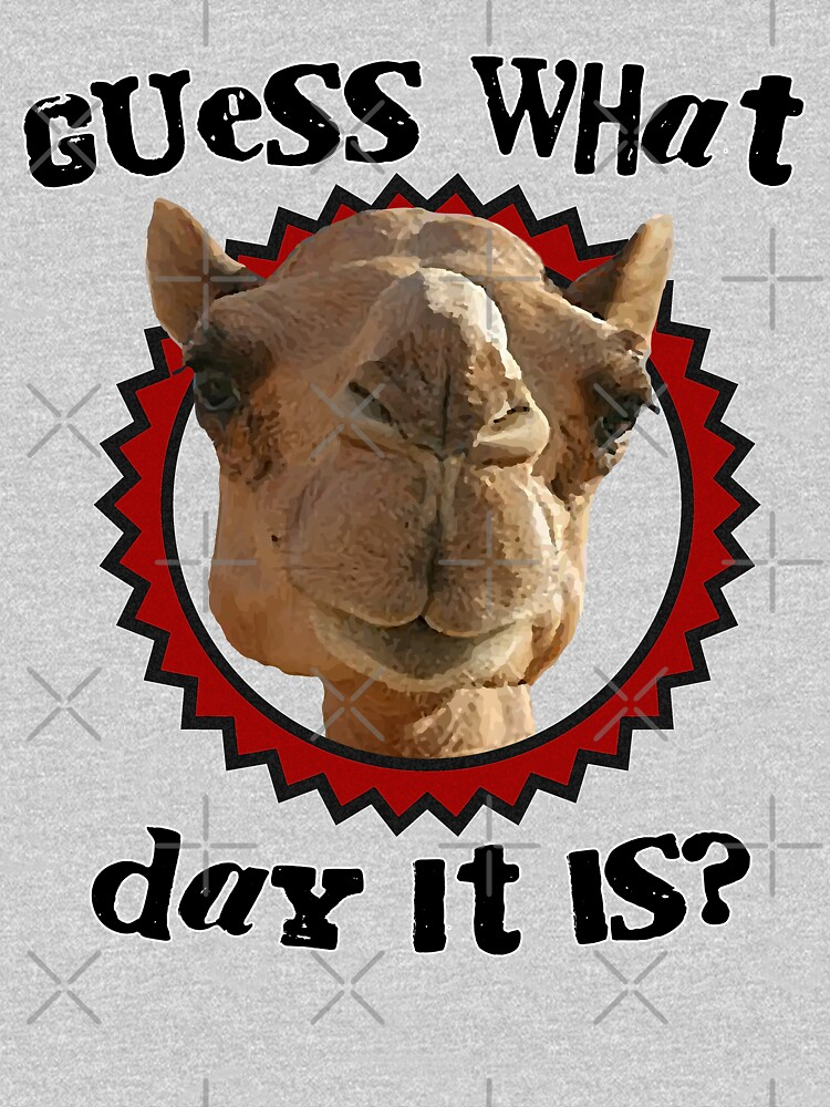 Hump Day Camel - Guess What Day it Is - Wednesday is Hump Day - Parody Camel | Unisex T-Shirt