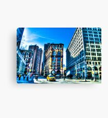 Lienzo Streets and Buildings of New York City, USA