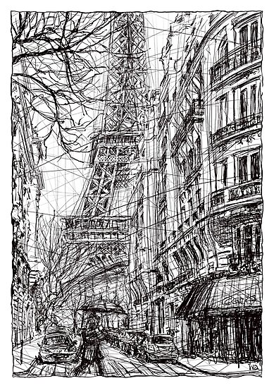 Paris 5 by Tatiana Ivchenkova