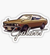 Vintage Galant Sticker
