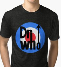 Dr Who Target (with arrow) Tri-blend T-Shirt