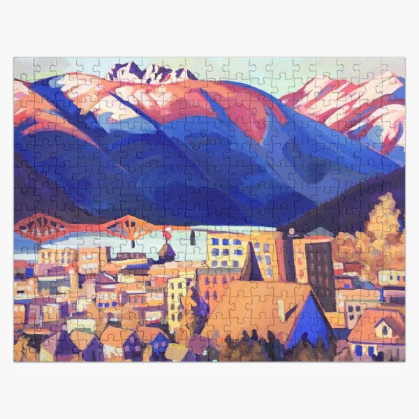 Sunset over Nelson Jigsaw Puzzle