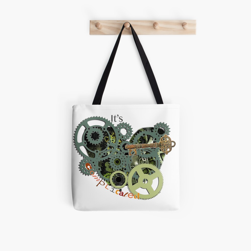 Complicated Cogs  Tote Bag