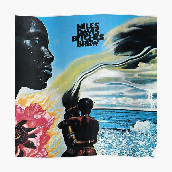 Bitches Brew - Miles Davis Poster
