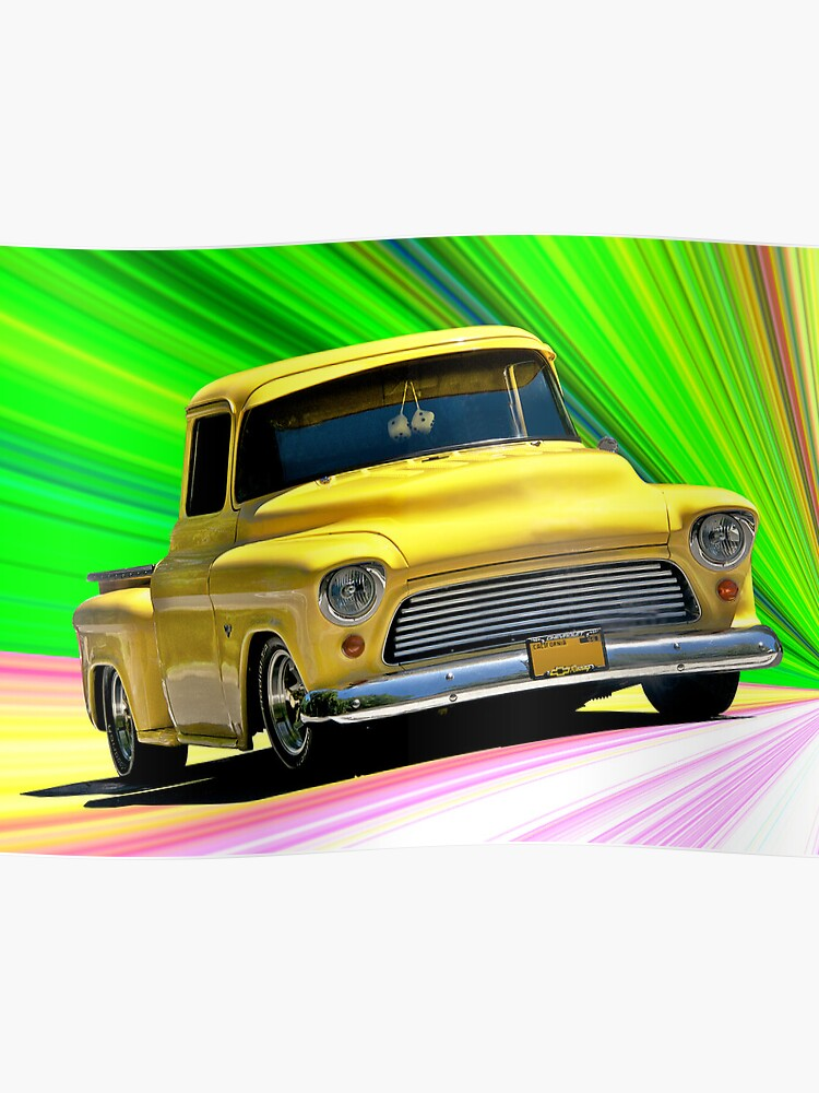 1956 Ford F100 Custom Pick-Up Truck VI | Poster