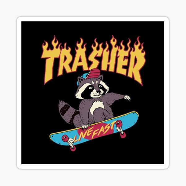 Trasher! Sticker