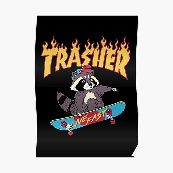 Trasher! Poster
