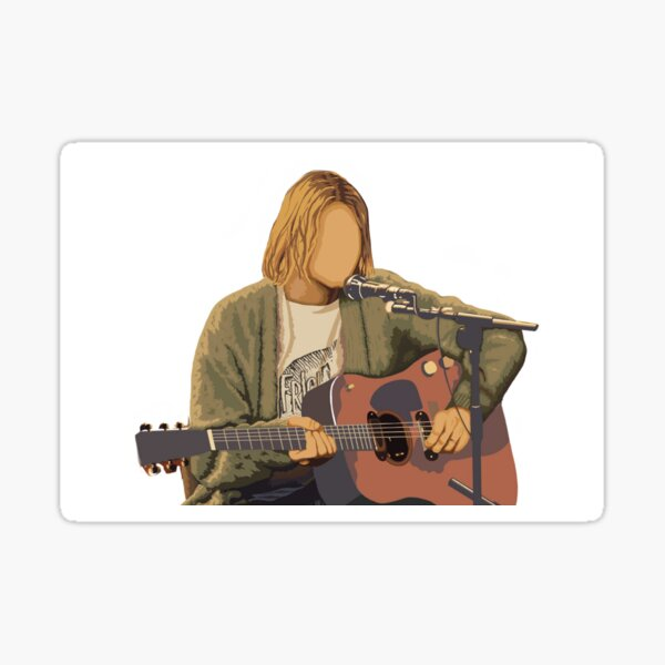 Kurt Cobain  Sticker