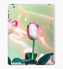 Pink Tulips Painted with Light iPad Case/Skin