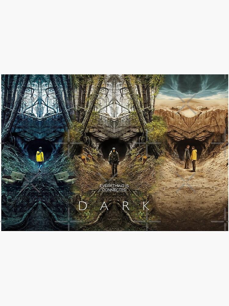 DARK season 1 2 3 poster by MarcoPolok