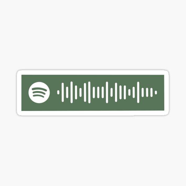 Folklore Album Taylor Swift Spotify Code Sticker