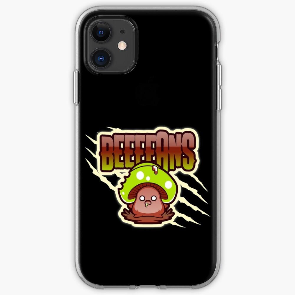 Beeeeans Vegan Zombie Mushroom iPhone Case