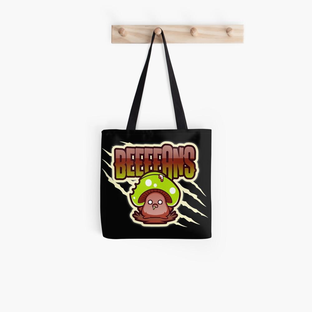 Beeeeans Vegan Zombie Mushroom Tote Bag
