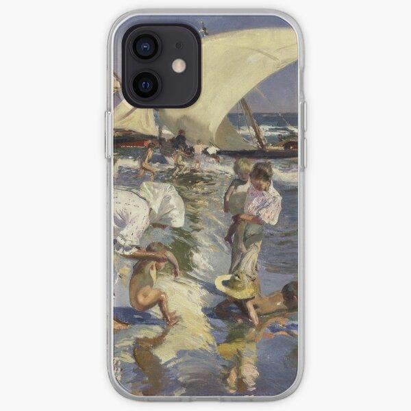 Joaquin Sorolla Y Bastida - Beach Of Valencia By Morning Light iPhone Soft Case