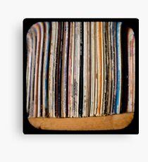 Records TTV Canvas Print