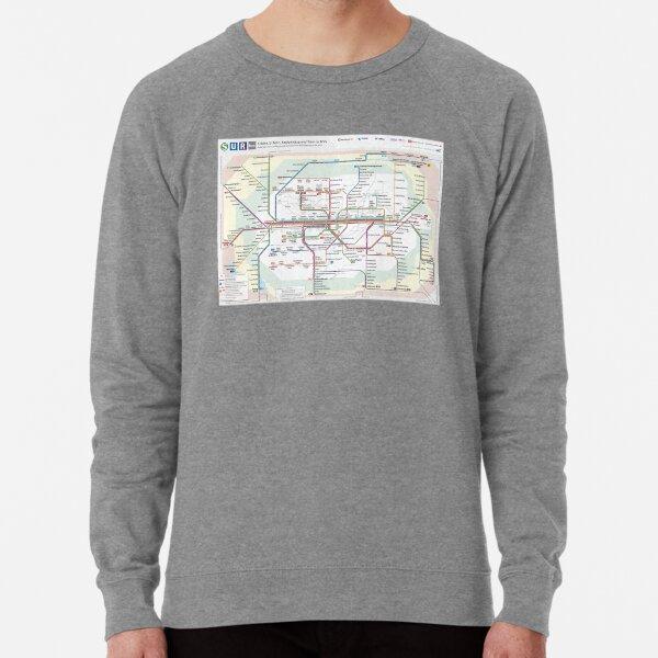 MVV Munich München Netzplan Lightweight Sweatshirt