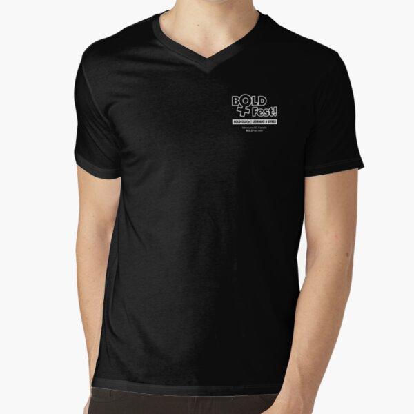 BOLDFest Fundraiser Logo Tee V-Neck T-Shirt