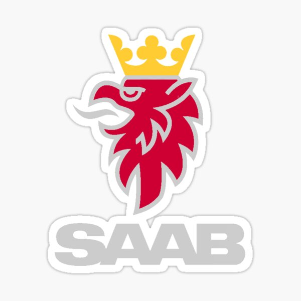 Saab-Logo-Produkte Sticker