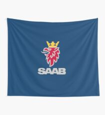 Saab logo products Wall Tapestry