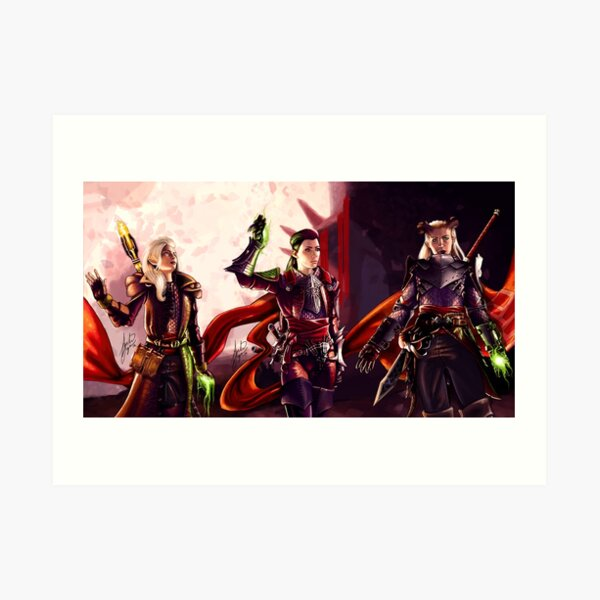 Three Inquisitors Art Print