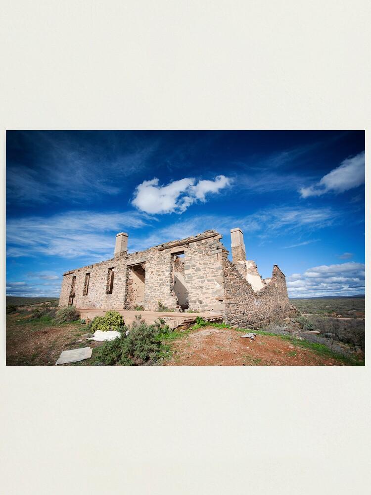 Alternate view of Waukaringa Ruins  Photographic Print