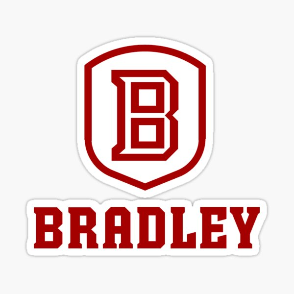 Bradley University  Sticker
