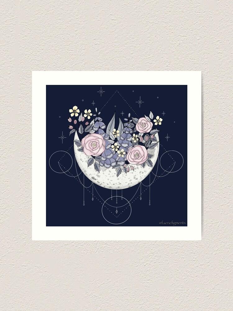 Alternate view of Mamma Moon Art Print
