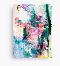 Windsurfing through Green Storms Canvas Print