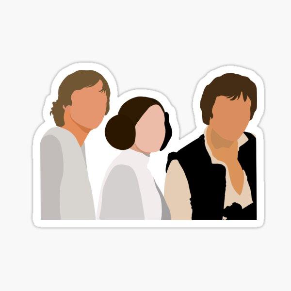 Original Trilogy Trio Sticker
