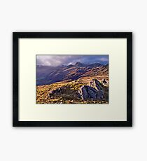 Langdale Light, Great Langdale - The Lake District Framed Print