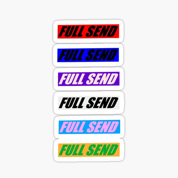 FULL SEND sticker pack Sticker