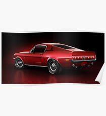 Shelby GT500 - Redline Poster