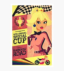 Princess Peach Mario Kart Photographic Print