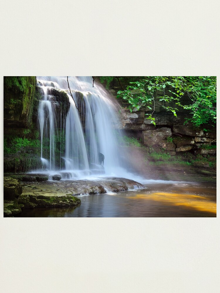 Alternate view of West Burton Falls (Cauldron Falls) - The Yorkshire Dales Photographic Print