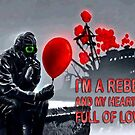 Rebel with a heart full of love by TattooedGuy