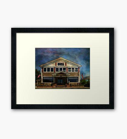 Heinle's General Store Framed Print