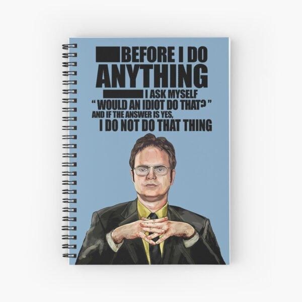 La Oficina - Dwight K. Schrute Cuaderno de espiral
