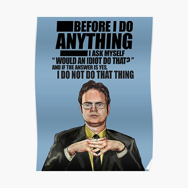 The Office - Dwight K. Schrute Poster