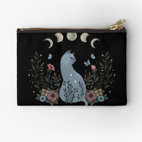 Cat on the Hill Zipper Pouch