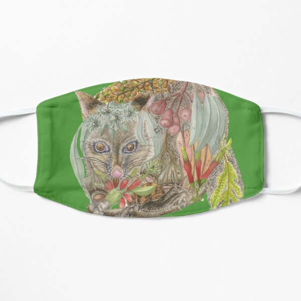 Brush tailed Possum Flat Mask