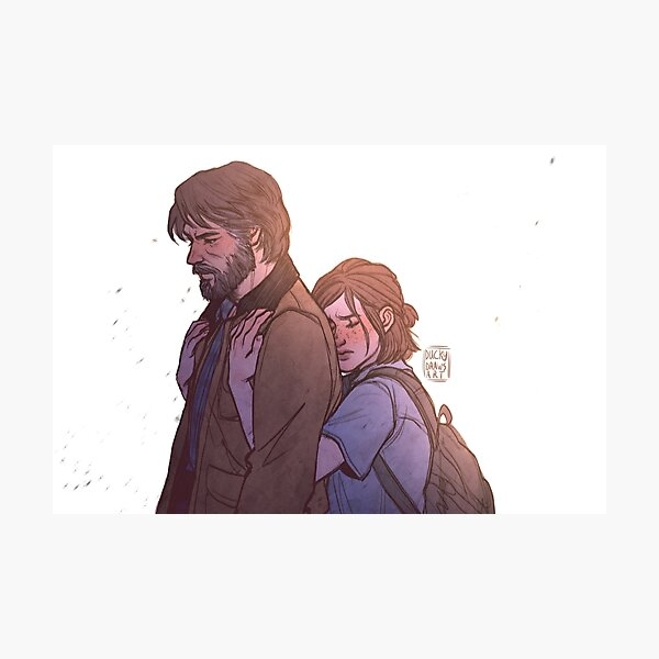 If I ever were to lose you | TLOU2 Photographic Print