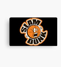 slam dunk Canvas Print