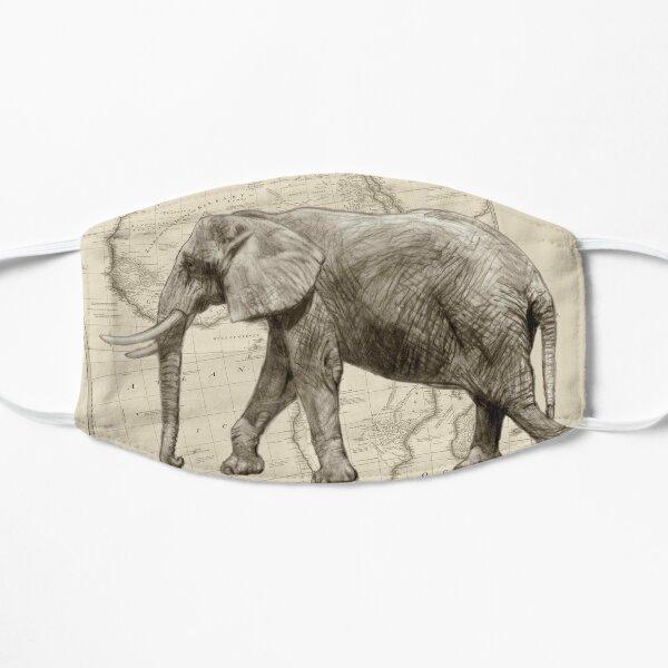 African Elephant Art Mask