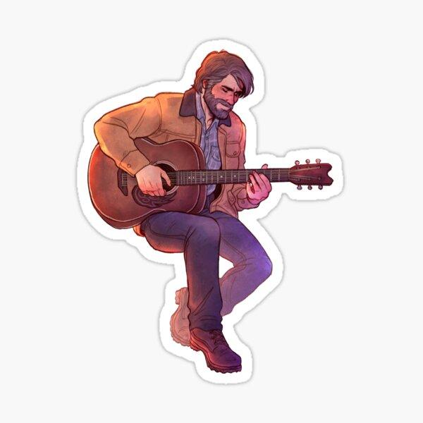 Gee-tar Joel   TLOU2 Sticker